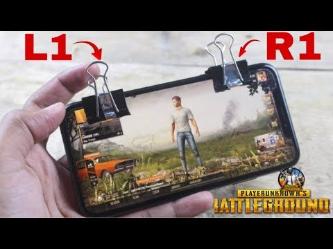 Make PUBG Trigger With Binder Clips In A Minute | DIY