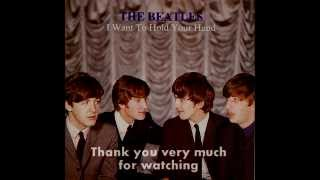 i want to hold your hand 抱きしめたい the beatles instrumental cover for karaoke