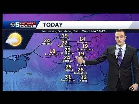 Video: Unseasonably Cold Through Sunday (3/17/18)