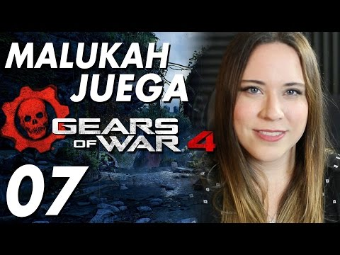 Gears of War 4 - Español Latino - Malukah Juega Ep. 7