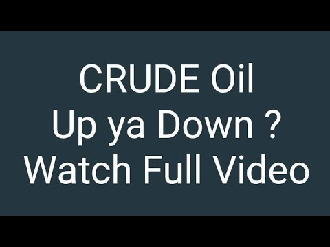 Crude Oil Trading | Watch Full Video