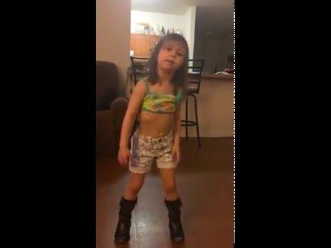 4 Years Old Aislin Dancing,