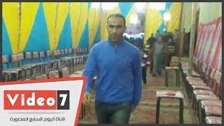 بالفيديو.. سيد عبد الحفيظ وفتحى وسليمان وعظيمة فى عزاء والد أحمد عبد الظاهر