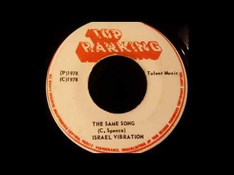 ISRAEL VIBRATION - The Same Song [1978]