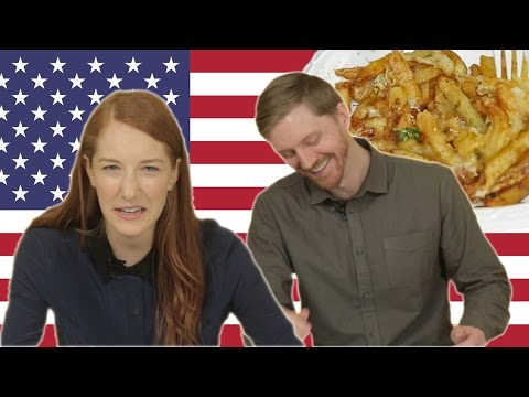 Canadians Try American Poutine