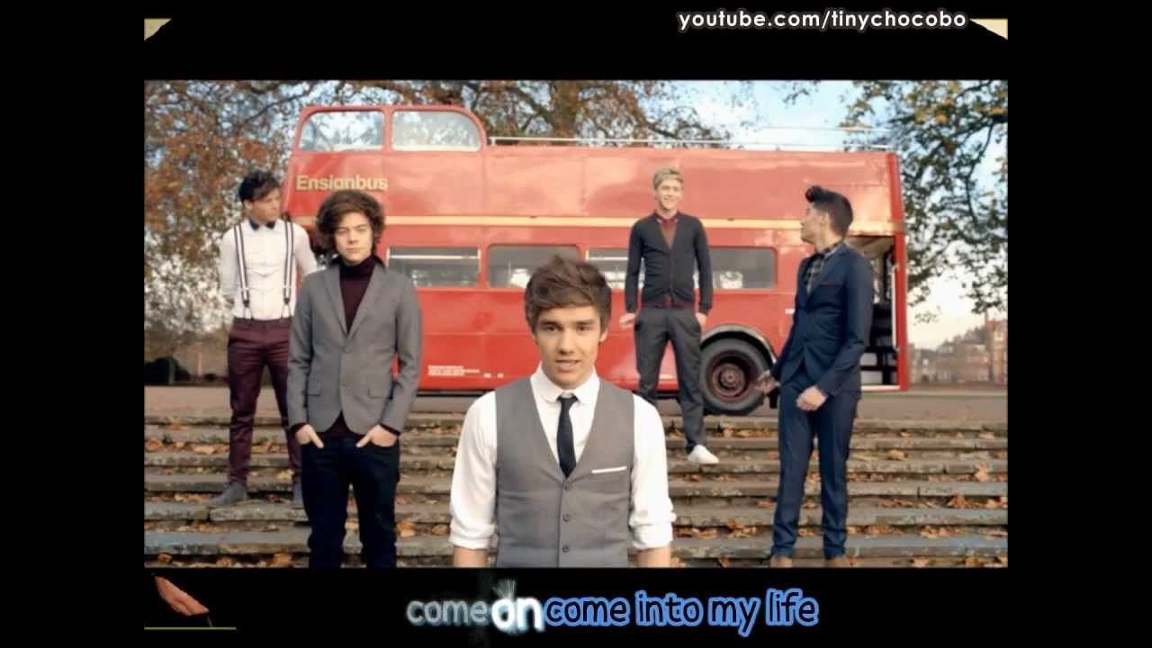 Download One Direction - One Thing (Sing-along Lyrics + Pictures)