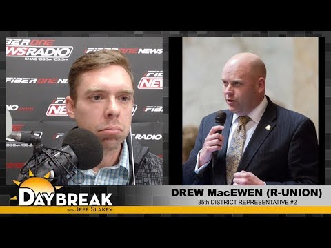 35th District Representative Drew MacEwen on Daybreak - 03/07/18