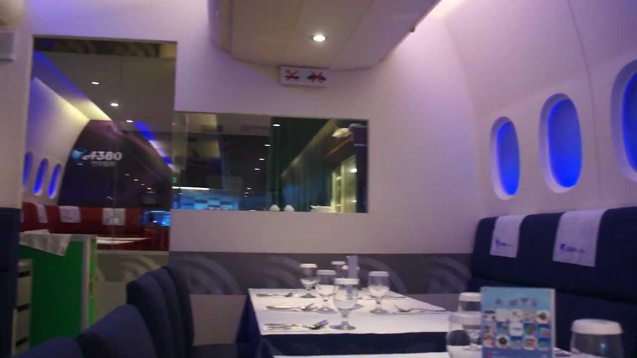Unique Restaurants Around The World: A380 In-flight kitchen
