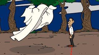 ¡ OBAMA SECUESTRADO ! | Obama Saw Game (Obama in The Dark 4) | Solución Completa Parte 1