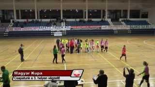 Astra K. Bulls - Dunakeszi Kinizsi 2014.02.01 Női MK elődöntő 2. m