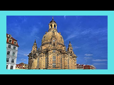 Dresden, the magnificent Baroque Lutheran church of Our Lady (Fraeunkirche), Germany
