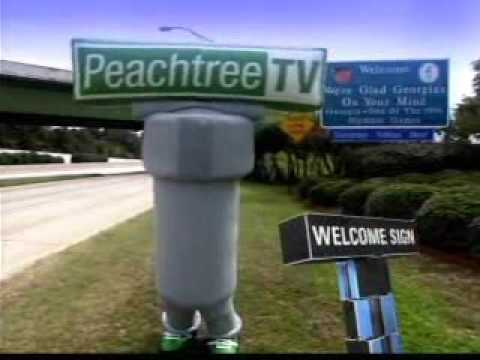Peachtree TV Welcome Sign AD + Peachtree TV orange 2011 ID