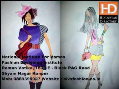 Nivs Fashion Desinging Institute In Kanpur Youtube