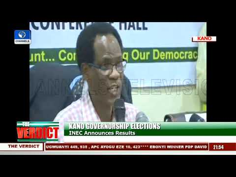 INEC Declares Kano Governorship Election Inconclusive Mp3