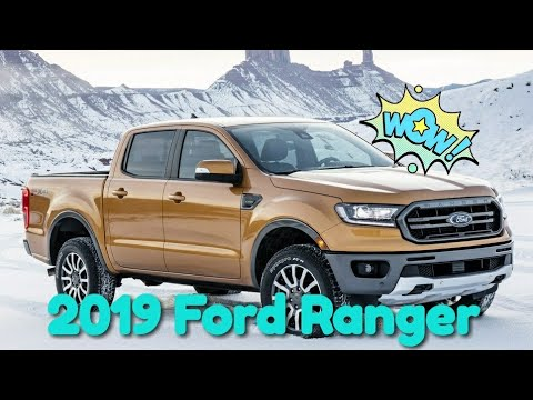 2019 Ford Ranger Available 8 Different Colors, Loves The Outdoors
