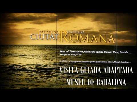 Vídeo de la visita al Museo de Badalona organizada por la Asociación Ecometta.