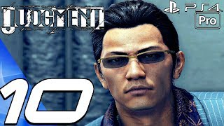 JUDGMENT - Gameplay Walkthrough Part 10 - Satoshi Boss & Dirty Cop (Full Game) PS4 PRO