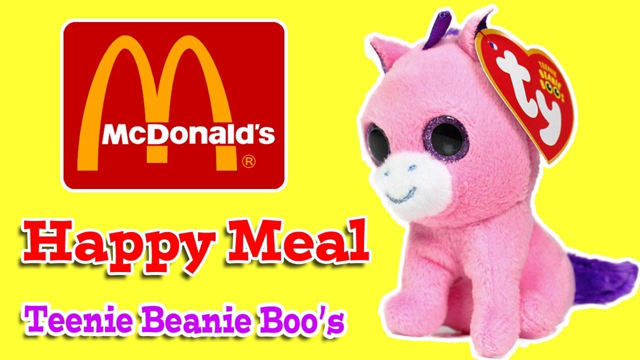 McDonalds Happy Meal Toy - Teenie Beanie Boo Beanie Babies - YouTube 07982a118d8