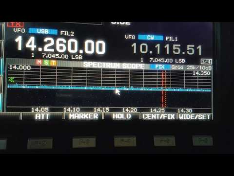 J5T, Guinea Bissau AFRICA, 14MHz, SSB, Worked by HL2WA