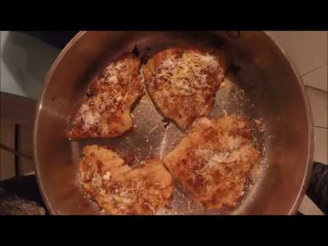 Cooking The Catch!  Parmesan Crusted Mangrove Snapper