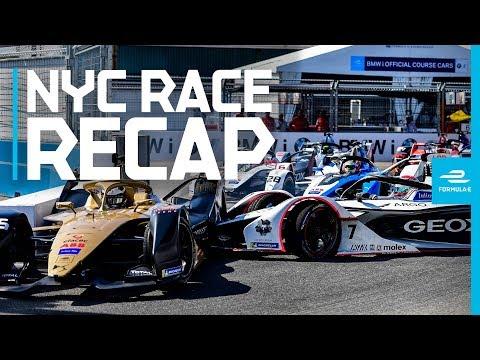 What A Way To End A Season! 2019 NYC E-Prix Weekend Review | ABB FIA Formula E Championship