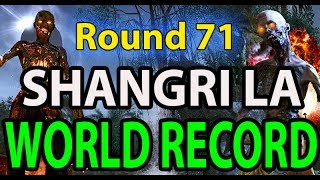 "Shangri La Round 71 ""WORLD RECORD"" No Power LIVE Comms + Webcam ""Black Ops Zombies"""