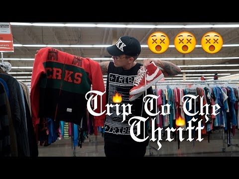 Trip To The Thrift 36   Crooks & Castles, Nautica, & Vintage Starter Flame in the Thrifts