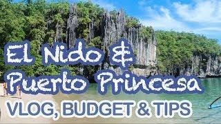 El Nido & Puerto Princesa Vlog, Travel Budget & Tips 2019   Cj-licious Vlog