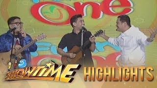 It's Showtime: Jugs, Teddy, and Bayani Agbayani in their funniest song translation game