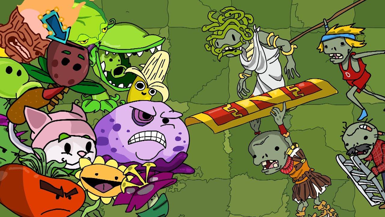 Plants vs Zombies 2 Animation New Epic Plants