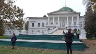 Палац Галаганів   огляд території(Палац складається з 3 корпусів -- центрального, який прикрашений куполом та восьмиколонним портиком, та..., 2013-10-17T10:32:15.000Z)