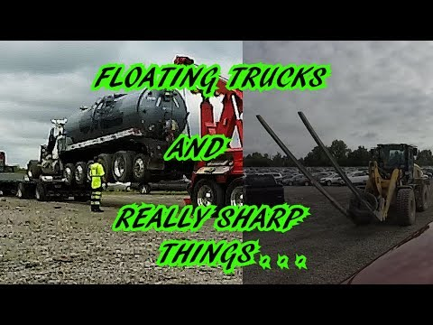 VALLEY TRANSPORTATION !!! FLOATING TRUCKS AND SHARP THINGS...