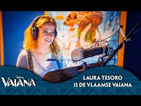 Laura Tesoro is de Vlaamse Stem van Vaiana | Disney BE