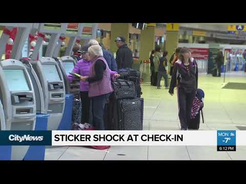 Sticker Shock At Check-in For Air Canada Passengers