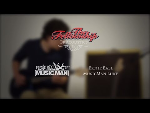 Music Man Luke 1 RI with Floyd Rose at The Fellowship of Acoustics