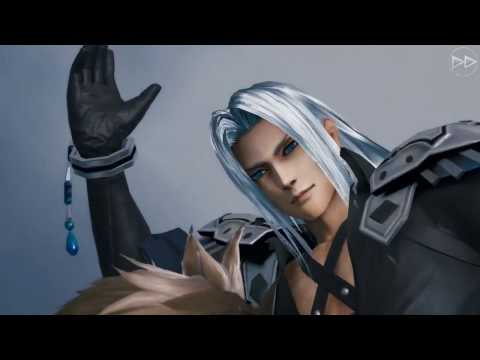 Mobius Final Fantasy - Final Fantasy VII REMAKE 2nd Collaboration (Sephiroth Map) Scene
