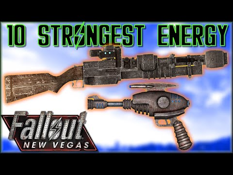 10 STRONGEST ENERGY WEAPONS In Fallout: New Vegas - Caedo's Countdowns