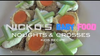 NOUGHTS & CROSSES SANDWICHES - Kids Recipe Thumbnail