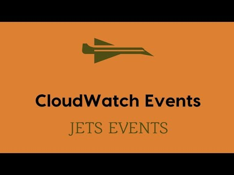 CloudWatch Rule Events - Jets Ruby Serverless Framework
