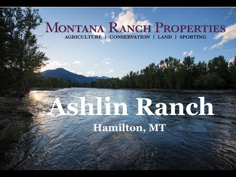 Montana Fly Fishing Ranch For Sale Ashlin Ranch Bitterroot River Western MT