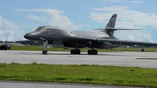 US B-1B's From Guam Train With Japanese Amid North Korea Tensions