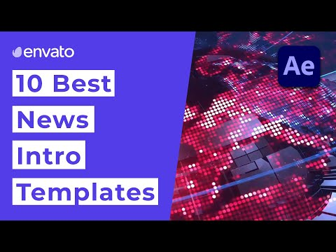 10 Best News Intro Templates for After Effects [2021]