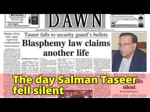 The day Salman Taseer fell silent