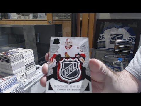 High End Hockey Box Break Sunday Monster With 10 Ice Box Giveaway - C&C GB #8517