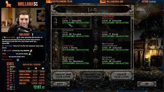 Diablo 2 - Hell Hardcore Race - Attempt #2