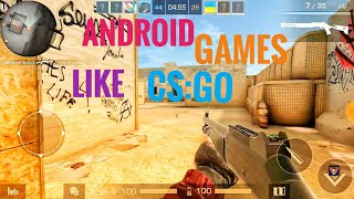 Top 13 Android games like CS:GO 2018