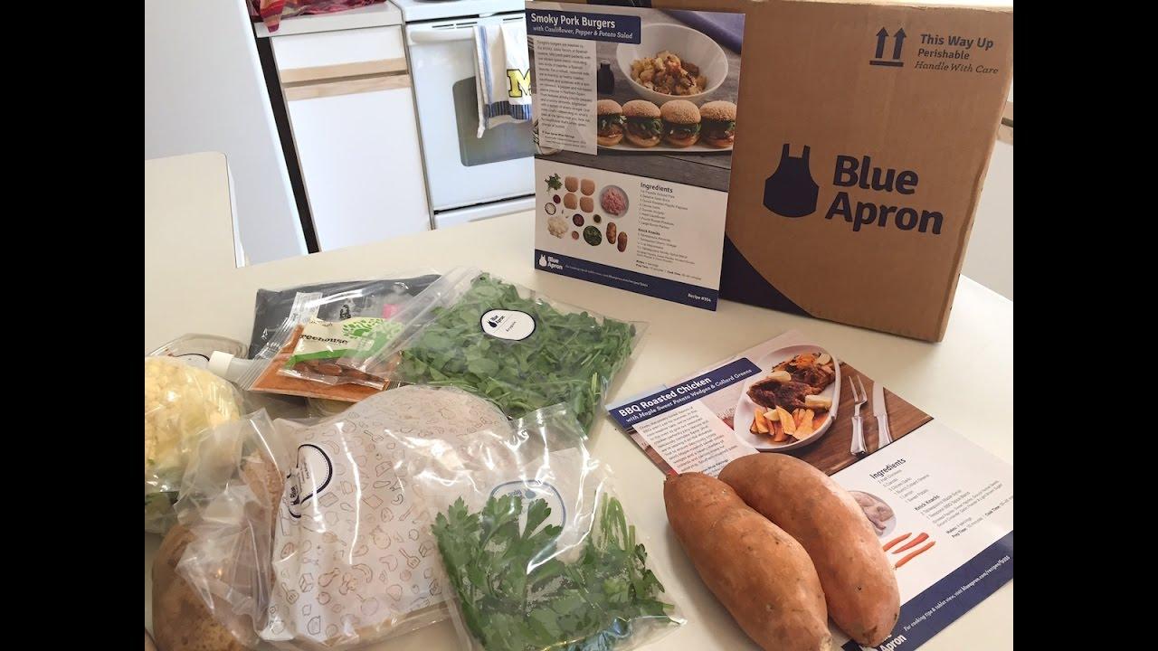 Blue apron pork burgers - Blue Apron Unboxing 11