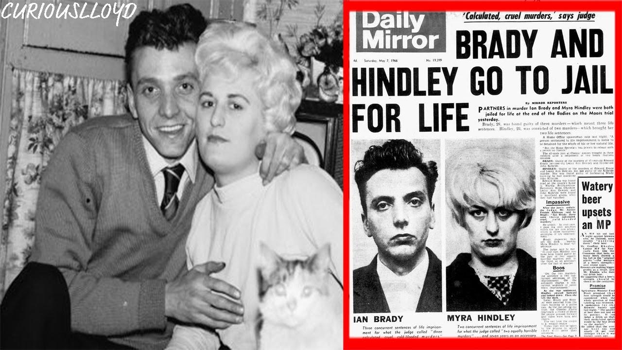 Serial Killers Ian Brady And Myra Hindley | The Moors Murders ...