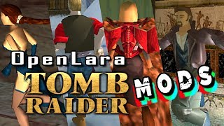 Tomb Raider/ OpenLara (XProger) - MODS and Funny Bugs