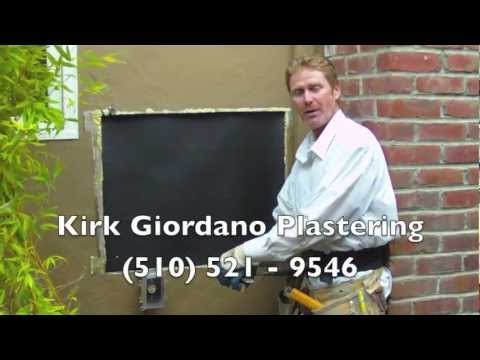 Quickly repair an exterior hole in a stucco wall